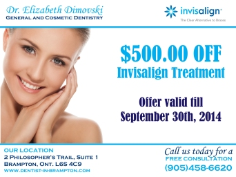 Invisalign Special, Invisalign Coupon, Invisalign Dentists in Brampton, Orthodontist,